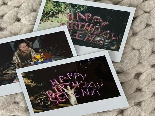 Singer Selena Gomez shares birthday celebrations pictures (Image source: Instagram)