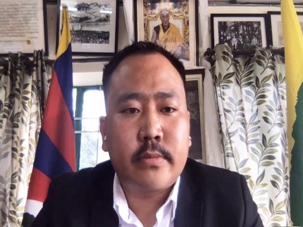 Gonpo Dhondup the chief of Tibetan Youth Congress (File pic)