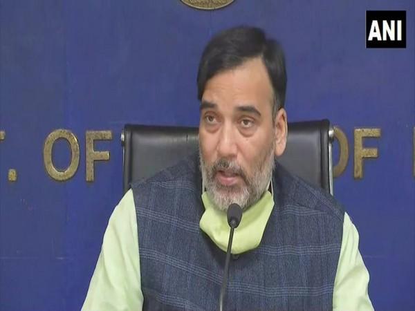 Delhi Environment Minister Gopal Rai [File Photo/ANI]