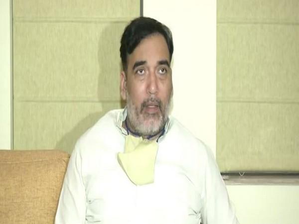 Delhi Environment Minister Gopal Rai (File Photo/ANI)