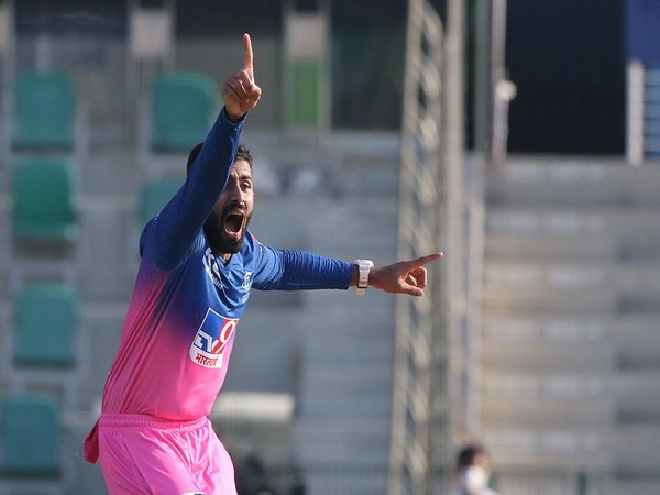 Rajasthan Royals all-rounder Shreyas Gopal (Photo: BCCI/ IPL)