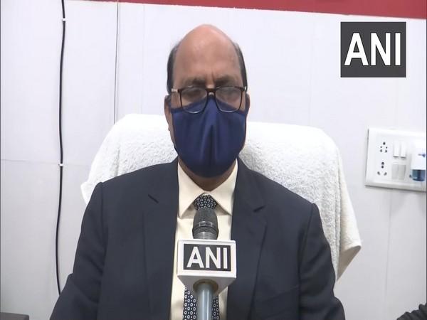 Dr Shrikant Tiwari speaking to ANI on Tuesday in Gorakhpur.