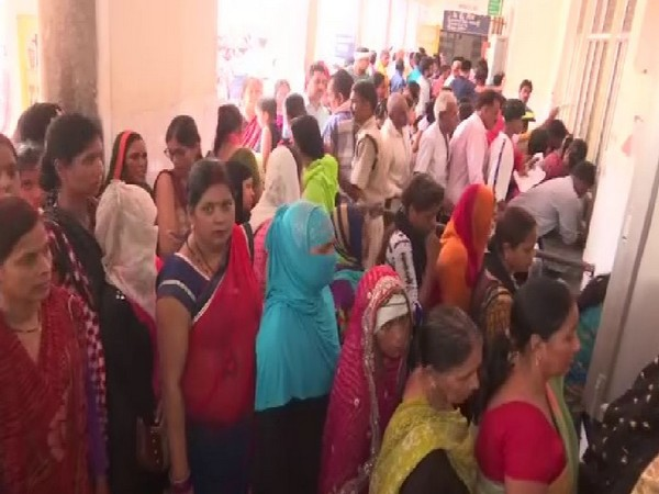 A view of District Hospital in Gorakhpur on Tuesday. Photo/ANI