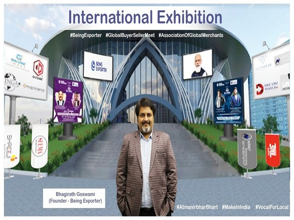 Bhagirath Goswami (Man of Export), Founder - Being Exporter