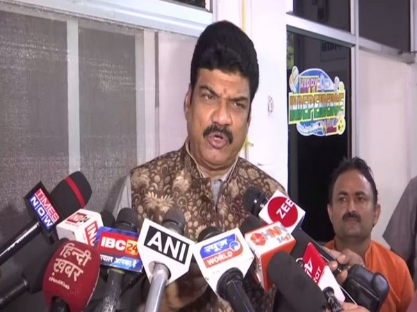 Madhya Pradesh Transport Minister Govind Singh Rajput speaking to reporters in Bhopal on Thursday. Photo/ANI