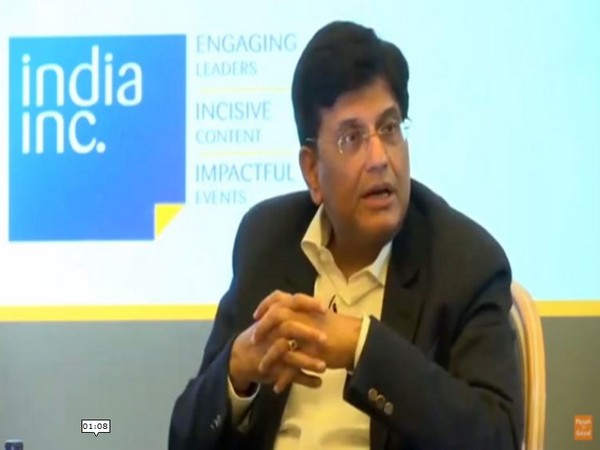 Union Railway Minister Piyush Goyal in London on Monday.