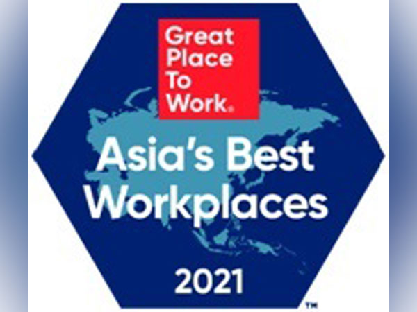 Great Place to Work(r) announces the Best Workplaces in Asia(tm) 2021