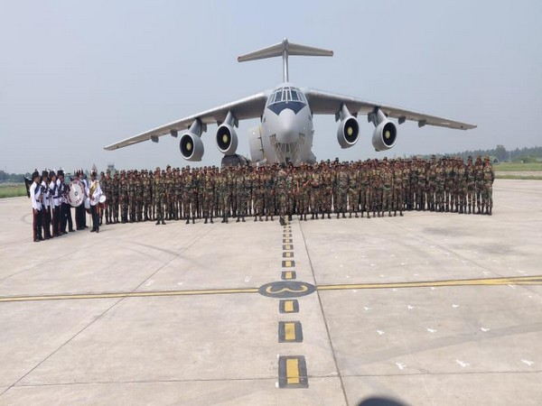 Punjab: Contingent of Grenadiers reached Adampur airbase, Jalandhar earlier today after participating in multilateral Exercise TSENTR 2019.