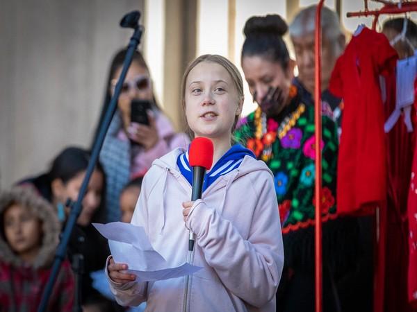 Swedish teen activist Greta Thurberg (File pic)