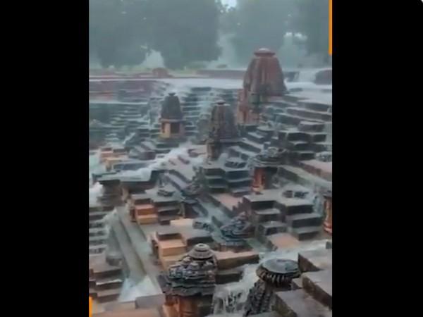 PM Narendra Modi shared a video of the iconic Sun Temple located in Modhera, Gujarat. [Photo/ANI]