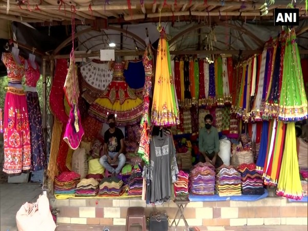 Law garden market in Ahmedabad, Gujarat. (Photo/ANI)