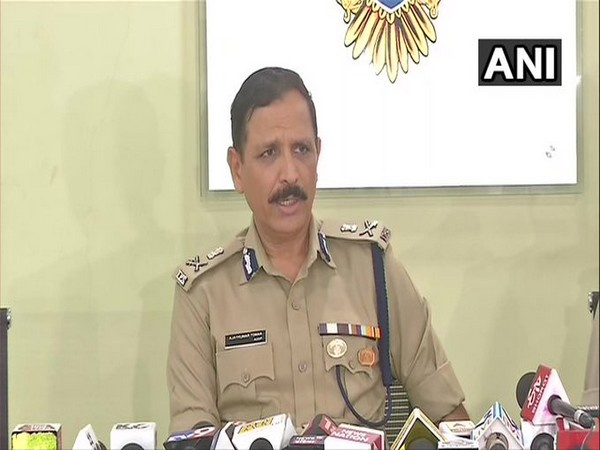 Special commissioner of police Ajay Tomar in Gujarat. Photo/ANI