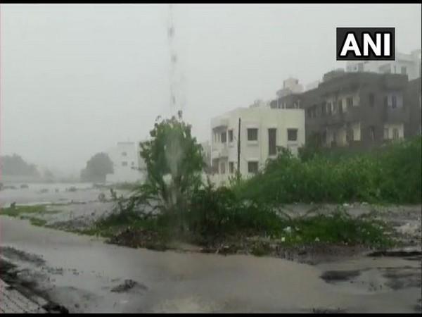 Gujarat's Surendranagar continues to receive heavy rainfall. [Photo/ANI]