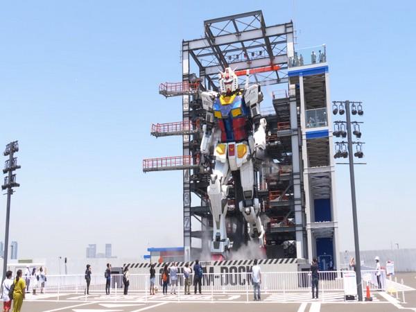 Popular animation character 'Gundam' (ANI)