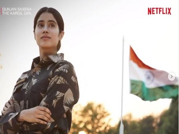 A still from the film 'Gunjan Saxena: The Kargil Girl' (Image Source: Instagram)