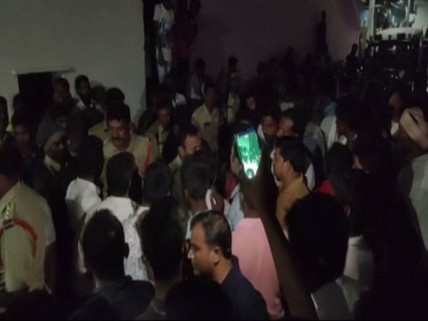 Locals and JSP workers allegedly surrounded the police and prevented them from leaving. Photo/ANI