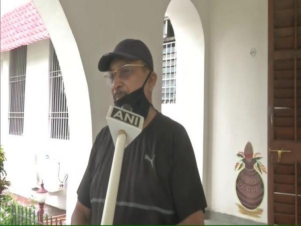 Bihar DGP Gupteshwar Pandey speaking to ANI on Thursday. [Photo/ANI]