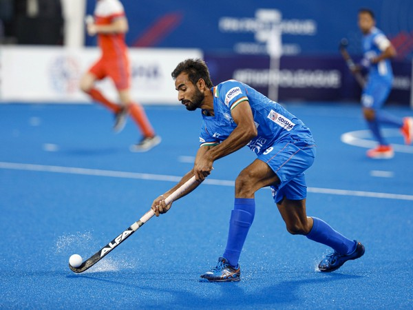 Indian hockey team striker Gurjant Singh (Photo/ Hockey India)