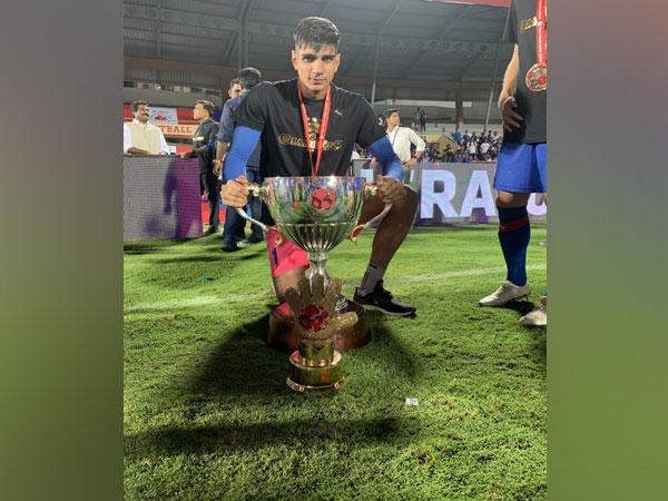 Indian goalkeeper Gurpreet Singh (Photo/ Gurpreet SinghTwitter)