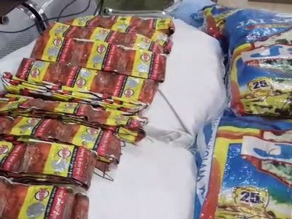"""Avanigadda police on Saturday recovered huge cache of """"Gutka"""" and tobacco."""
