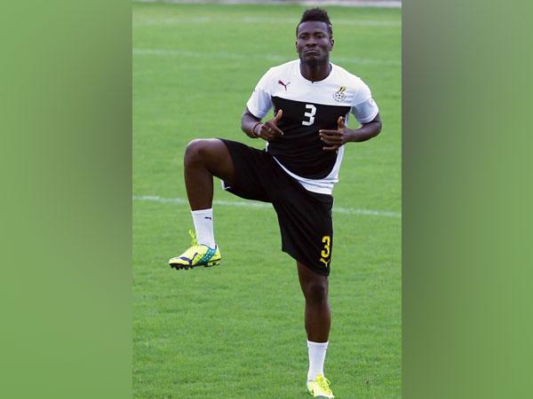 Striker Asamoah Gyan