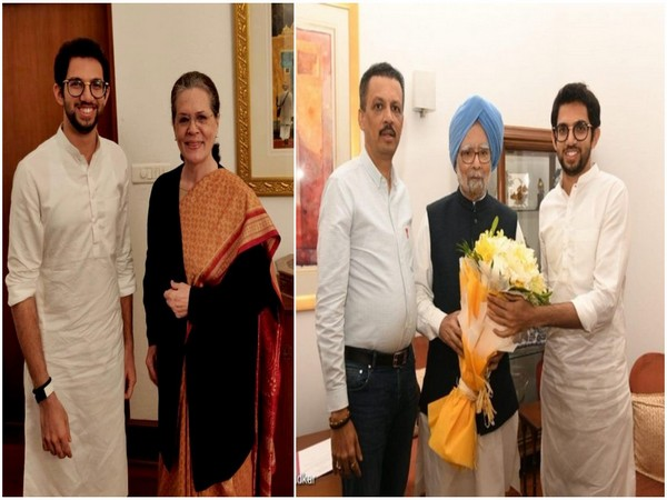 Aaditya Thackeray meets Sonia Gandhi, Manmohan Singh in Delhi