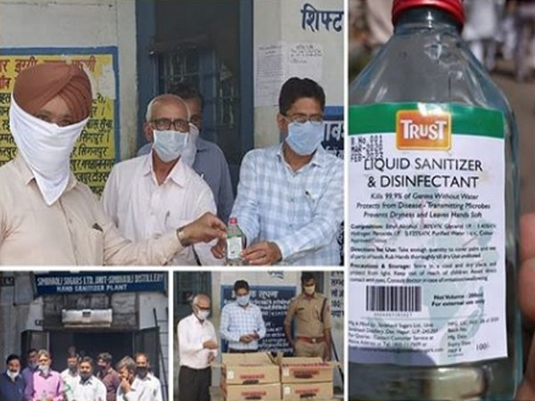 Simbhaoli Sugars' Trust Hand Sanitizers hailed as truly a public-private partnership 'For Rural India, by Rural India' in India's fight against COVID-19