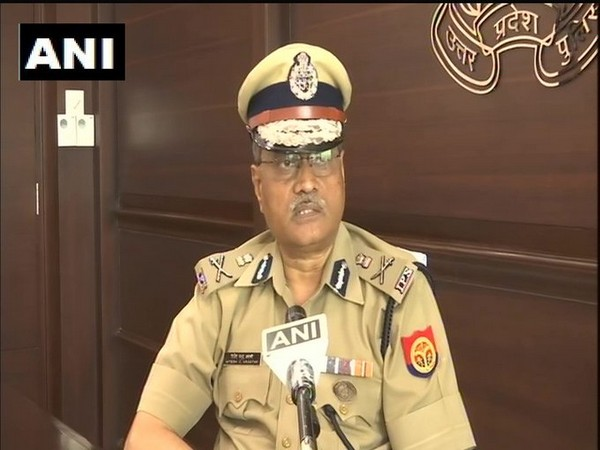 Uttar Pradesh Director General of Police, HC Awasthi speaking to ANI. Photo/ANI
