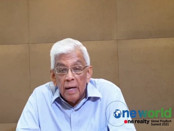 HDFC Chairman Deepak Parekh at One World One Realty Global PropTech Summit 2021 on Thursday
