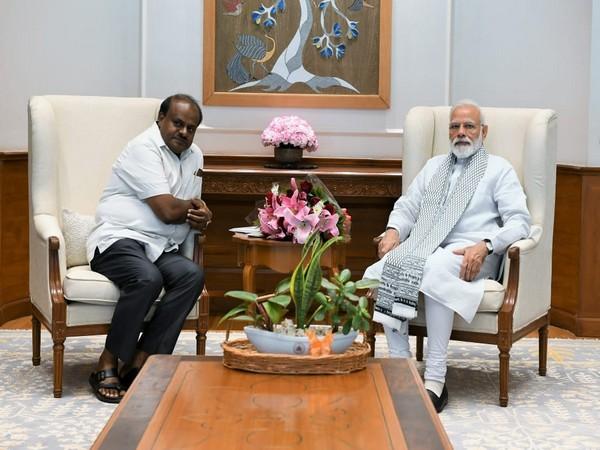 Karnataka CM Kumaraswamy meeting with Prime Minister Narendra Modi on Saturday in New Delhi.