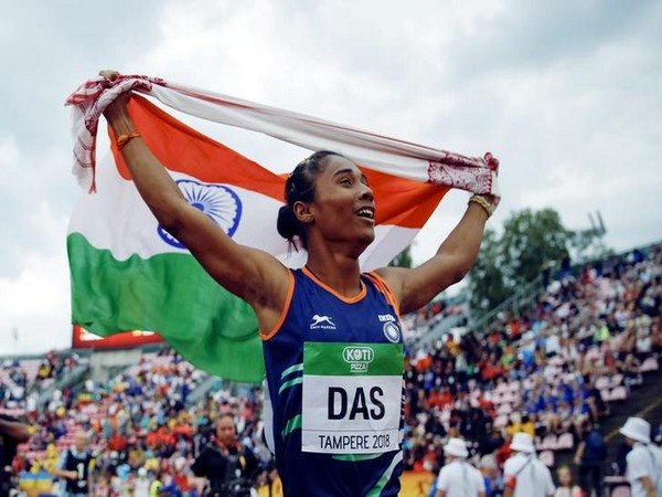 India ace sprinter Hima Das