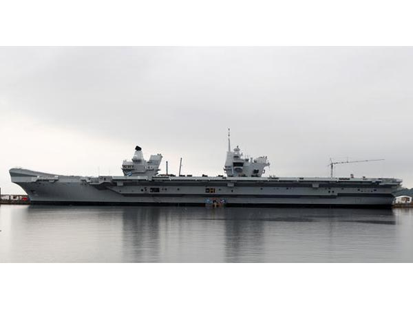 It will make stops in India, Singapore, Japan and South Korea, according to the British Ministry of Defence.