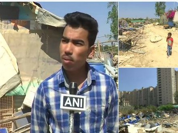 Md Jahangir Hussain, a local, speaking to ANI about demolition of 200 houses in Bengaluru. (Photo/ANI)