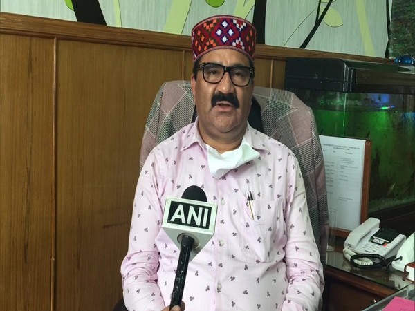 Govind Singh Thakur, Education,Language Art and Culture Minister, Himachal Pradesh. (File Photo)