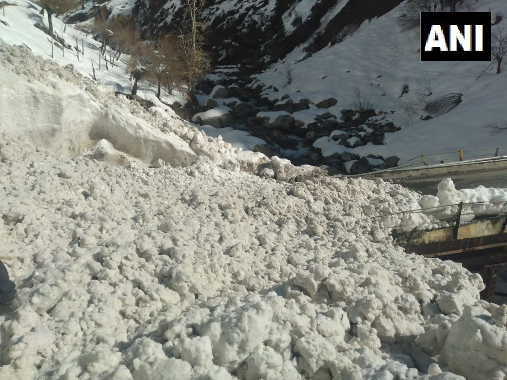 Avalanche hits Lahaul-Spiti district of Himachal Pradesh on Saturday
