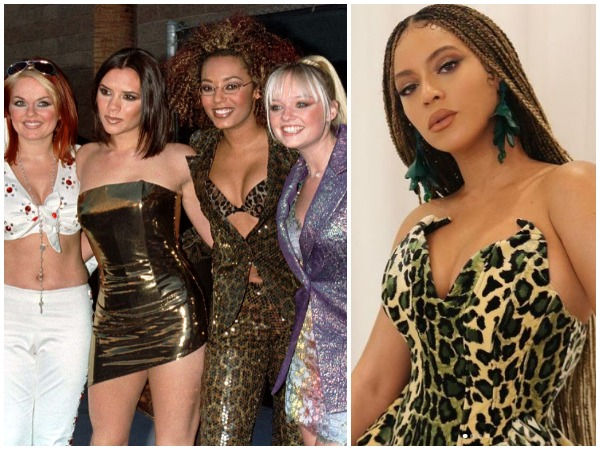 The Spice Girls, Beyonce (Image courtesy: Instagram)
