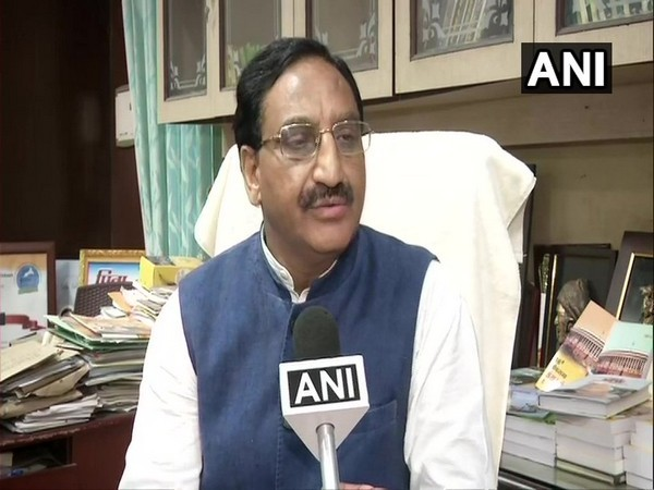 Human Resource Development Minister  Ramesh Pokhriyal 'Nishank'