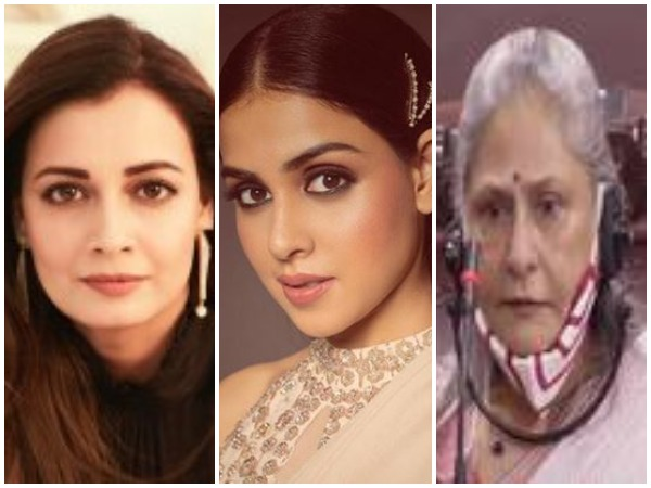 Dia Mirza, Genelia Deshmukh and Jaya Bachchan (Image courtesy: Twitter)