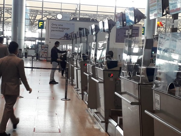 Visuals from Hyderabad International Airport