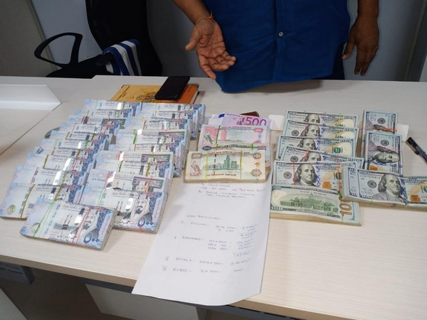Seized foreign currency