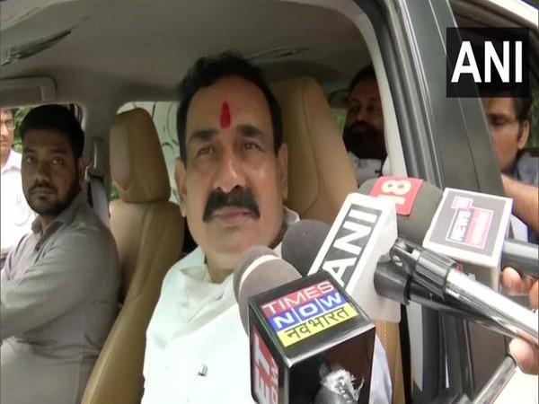 Madhya Pradesh Home Minister Narottam Mishra (Photo/ANI)