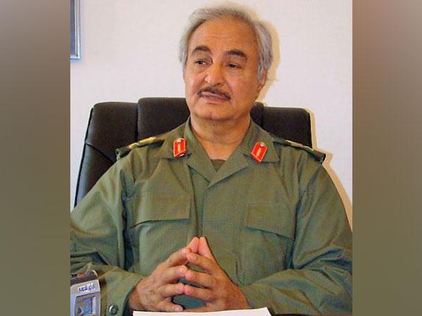 Leader of the Libyan National Army (LNA) Khalifa Haftar (File photo)