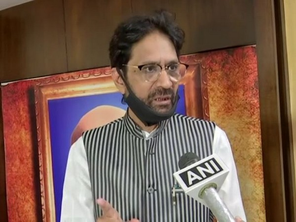 Haneef Ali, Member Central Waqf Council speaking to ANI in Hyderabad on Tuesday. (Photo/ANI)