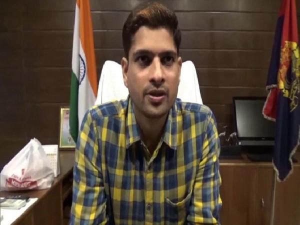 SP Hapur Yashveer Singh. Photo/ANI