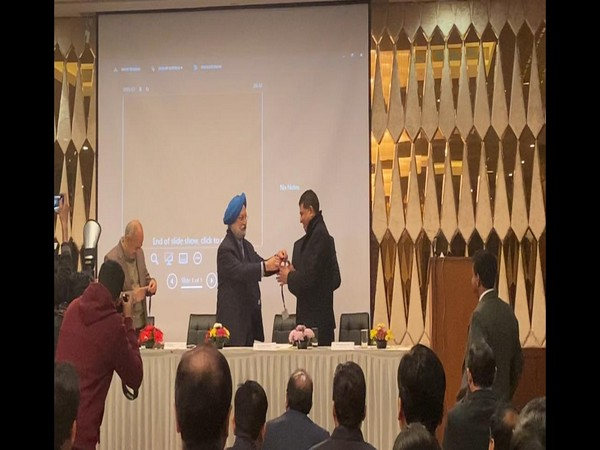 Hardeep Singh Puri gives biometric-based airport entry passes to DG, BCAS