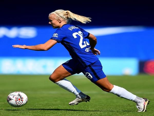 Chelsea forward Pernille Harder (Photo/Chelsea FC Women Twitter)