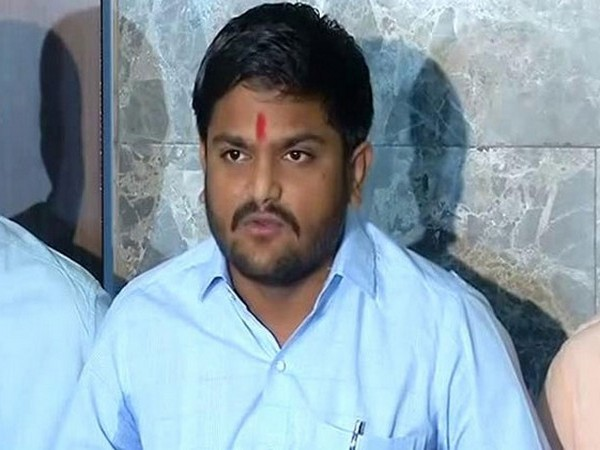 Working president of the Congress party in Gujarat, Hardik Patel (File photo)