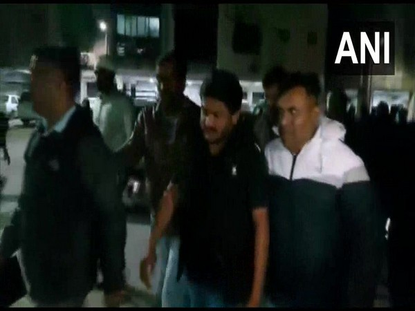 Congress leader Hardik Patel on Saturday sent to judicial custody till January 24. (ANI)