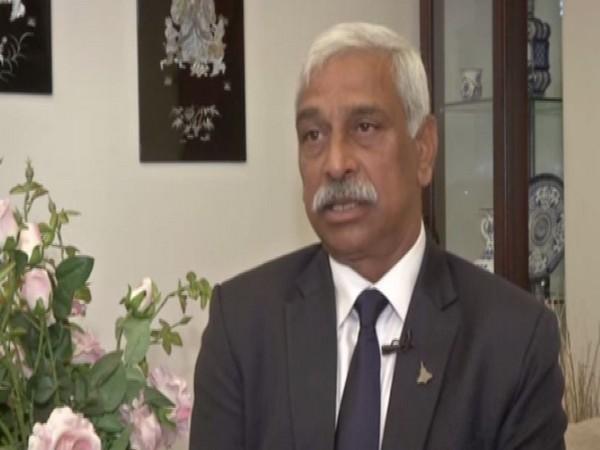 Air Marshal (retd) C Hari Kumar speaking to ANI.