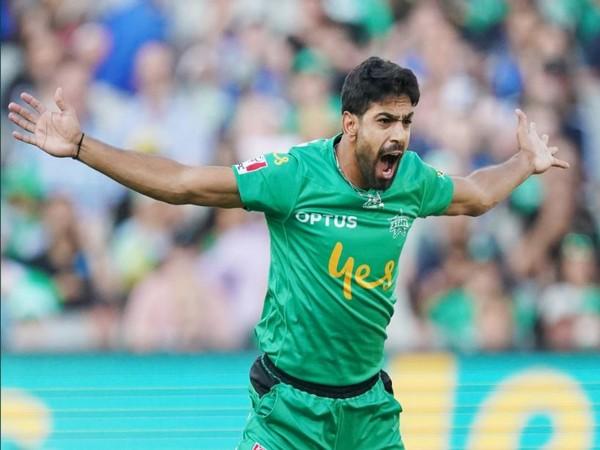 Pakistan pacer Haris Rauf. (Photo/BBL Twitter)